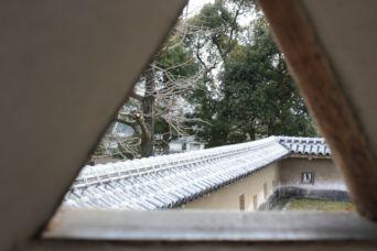201501姫路城狭間景色