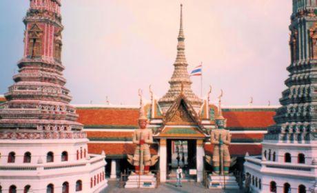 1993真紀バンコク王宮