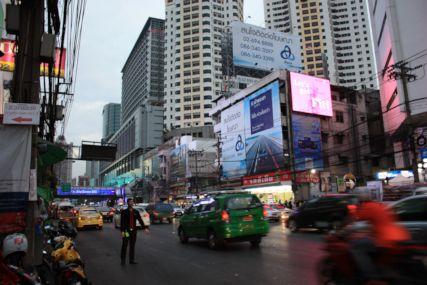 2014バンコクプラトゥーナム1日目夜街