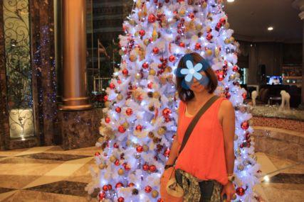 2014バンコクホテルXmasツリー