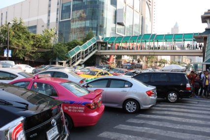 2014バンコク渋滞