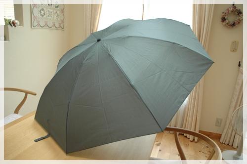 とても大きい傘