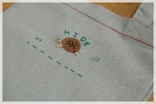ひでちゃんの刺繍