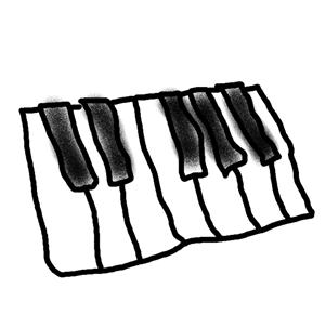 鍵盤のつもりw