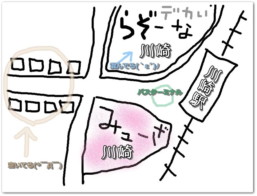 いい加減な地図( X ∀ X )