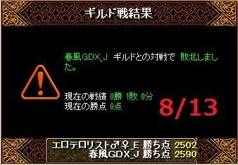 VS春風GDX_J様結果20150813