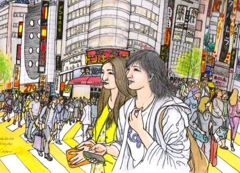 歌舞伎町横カード年賀