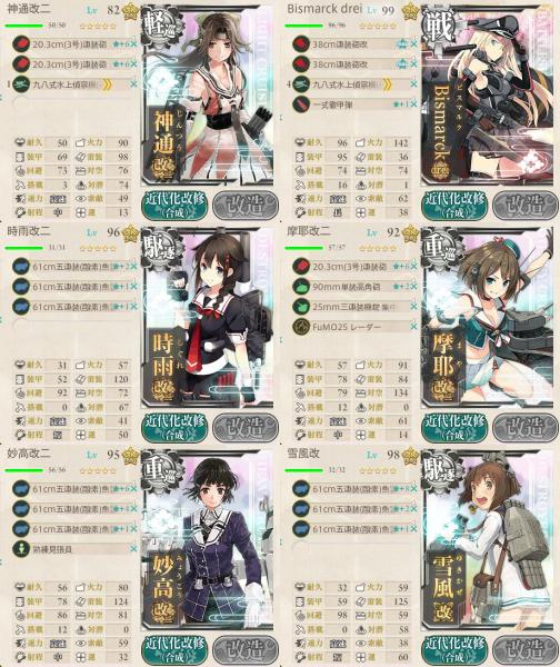 削り第二艦隊