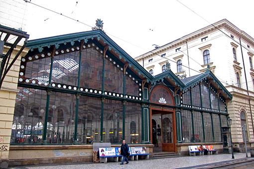 プラハ マサリコヴォ駅