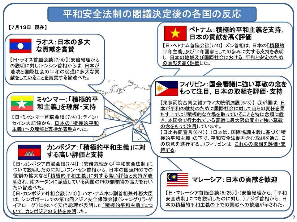 諸外国の安保法制について2