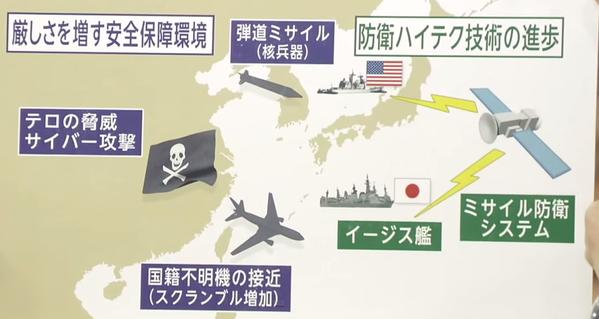 中国のうえに置かれた「海賊旗」