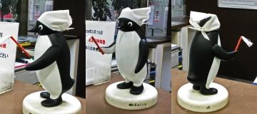 201412-あおば通り駅のペンギンさん (4)