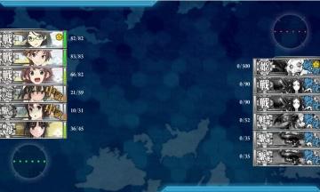 2015-0819 E-4攻略夜戦ルート編成2