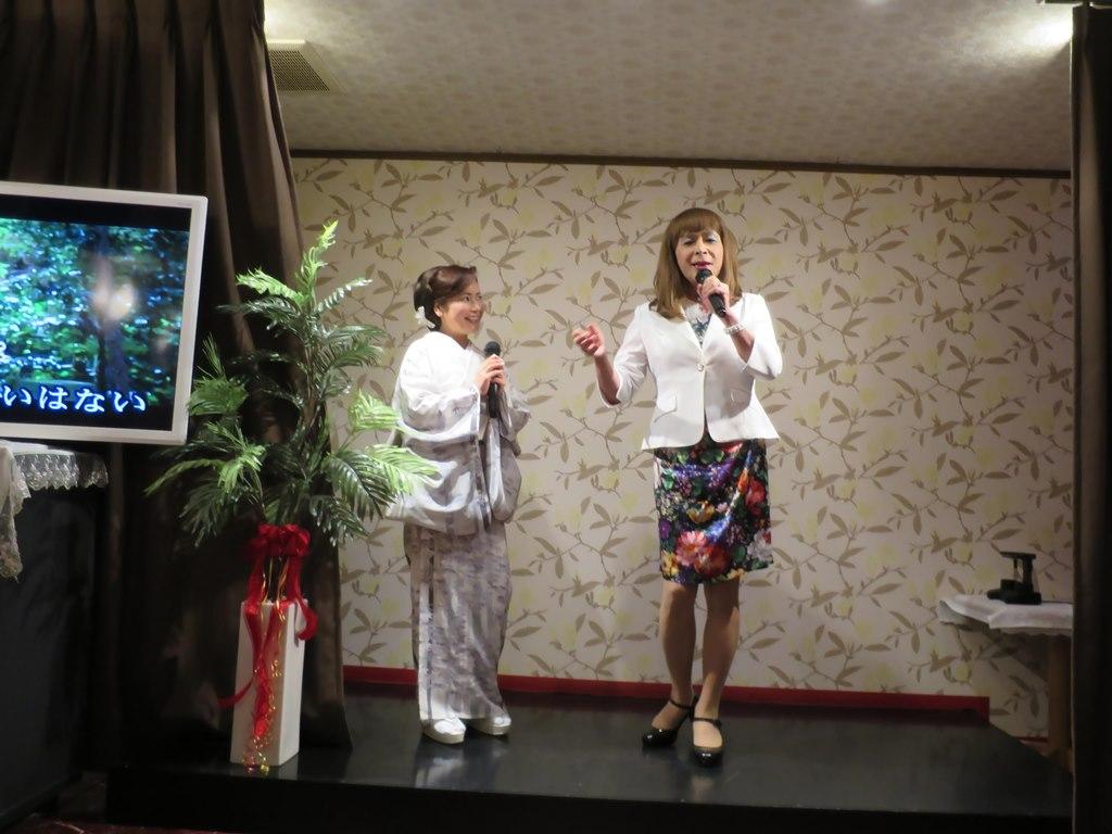 歌手葵かを里さんと(2)