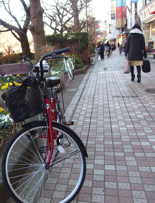 赤い自転車2月3日