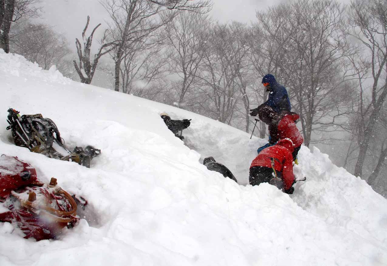 関東ブロック雪崩(4)