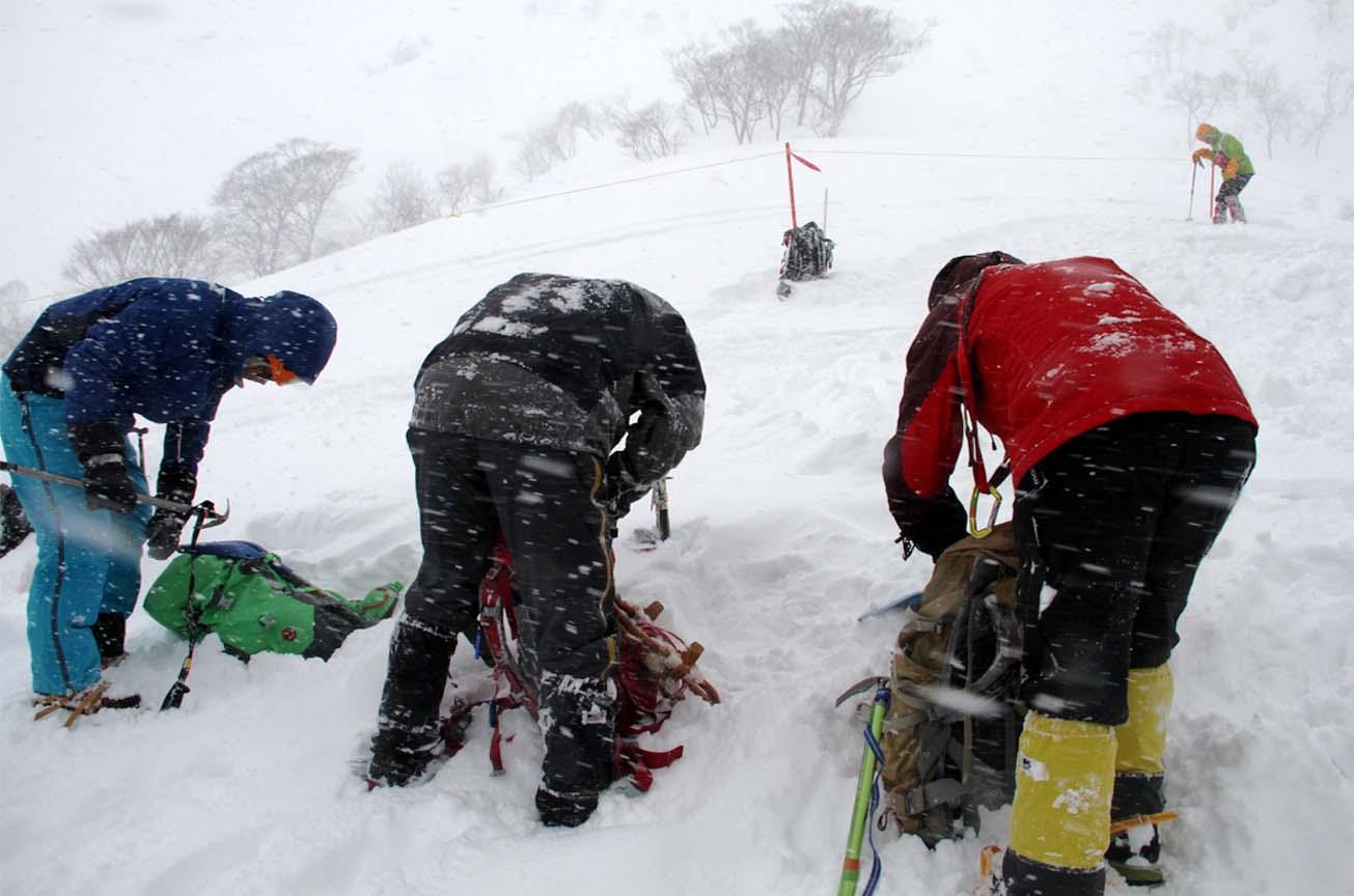 関東ブロック雪崩(9)