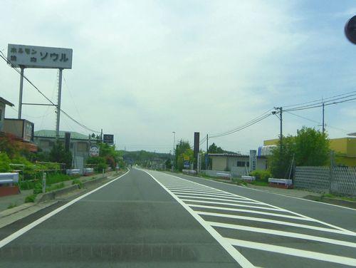 国道6号線19帰還困難区域双葉町内