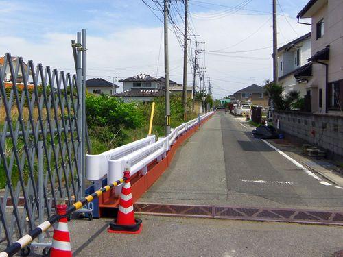 国道6号線31富岡町内困難・制限区域境
