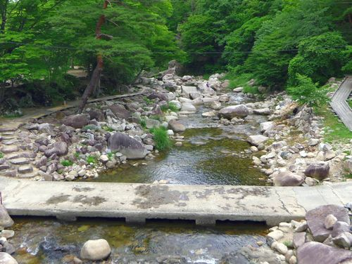 丸森不動尊公園キャンプ場3内川