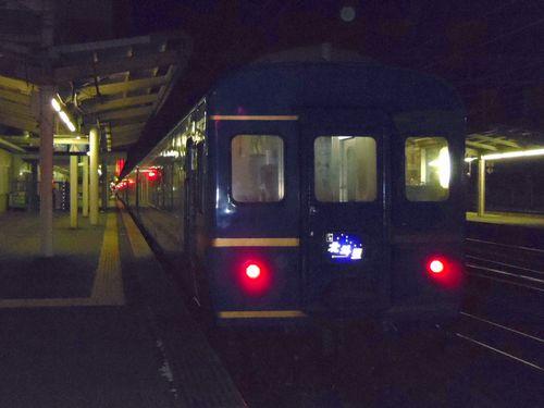 寝台特急北斗星6仙台駅最後尾