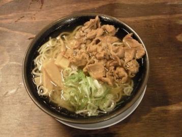 肉中華そば650円