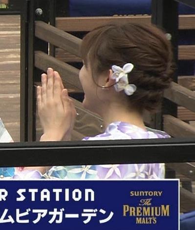久冨慶子 浴衣がかわいいキャプ・エロ画像2