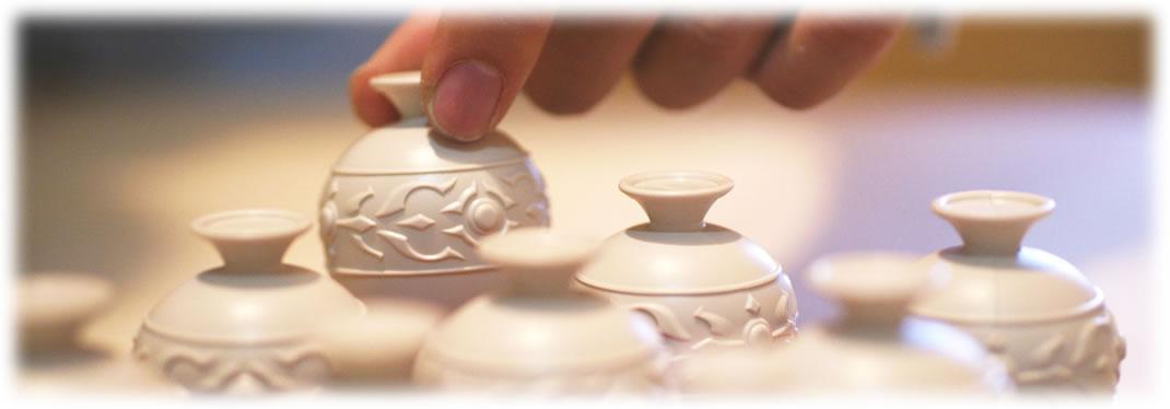 アラビアの壺:壺を振る