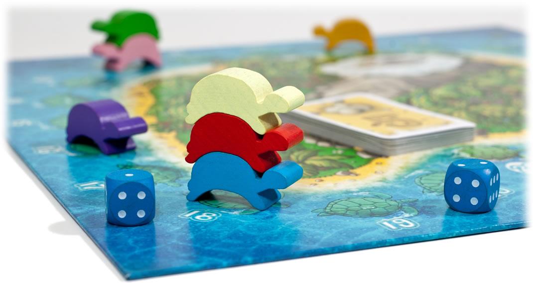 ウミガメの島:近影