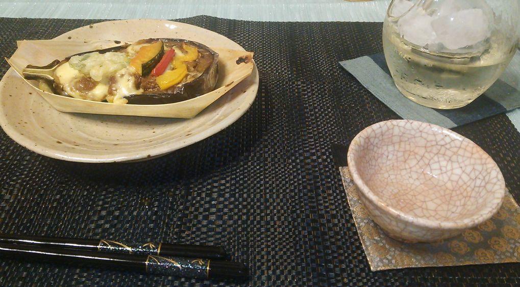 20150812肉味噌茄子