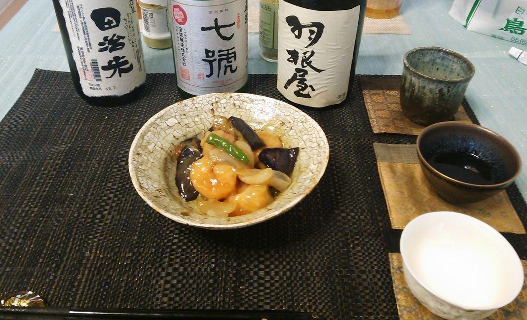 20150813エビ夏野菜