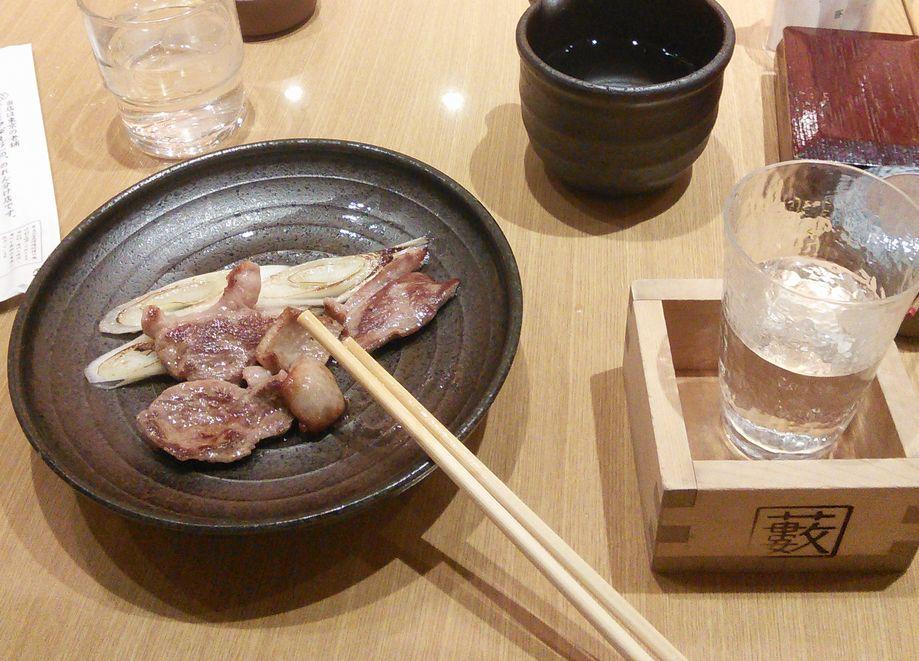 20150814藪そば合わせ焼き