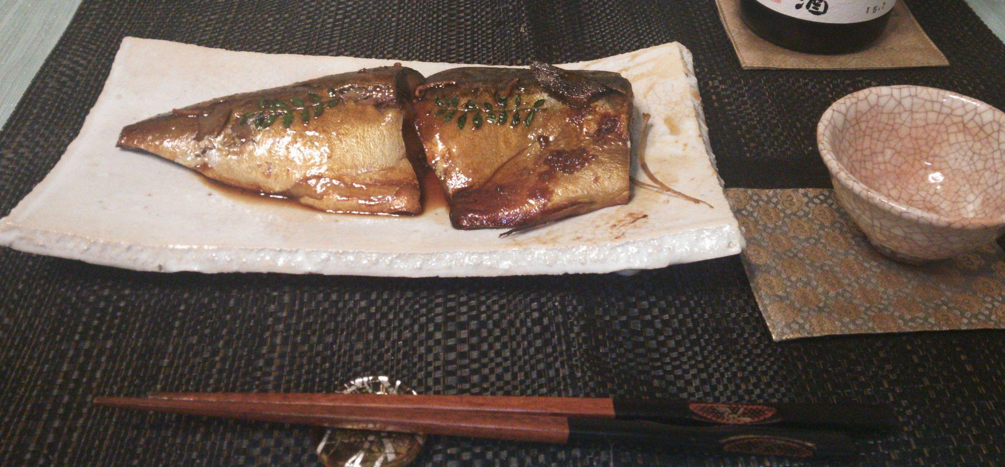 20150816鯖煮付け