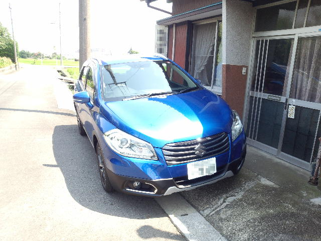 SX4 SCROSS Front View
