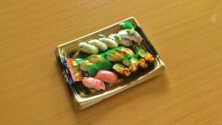 くら寿司(熟成中トロ、鯵、うに、えんがわ、穴子)3