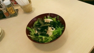 大戸屋手造り豆腐とじゃこのサラダ6