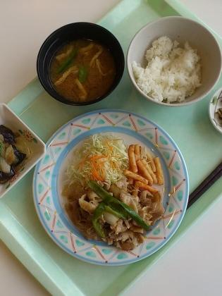OWL A定食(生姜焼き)2