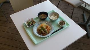OWL A定食(生姜焼き)3
