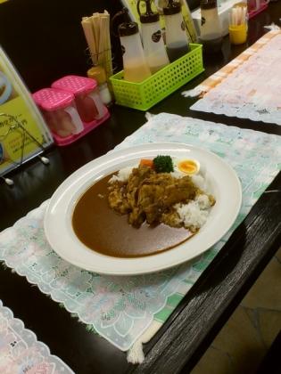 カレーハウスキッチンY、チキンカレー2