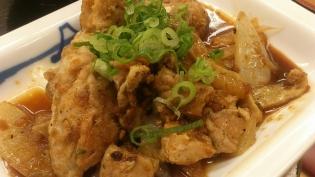松屋、ガーリックチキン定食5