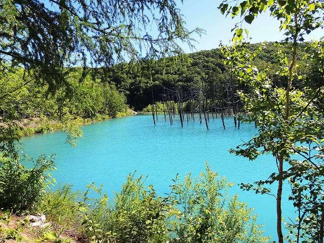 s-青い池