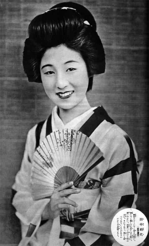 田中絹代1935aug