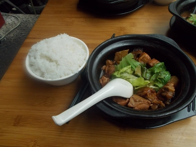 彭徳楷黄燜鶏米飯5