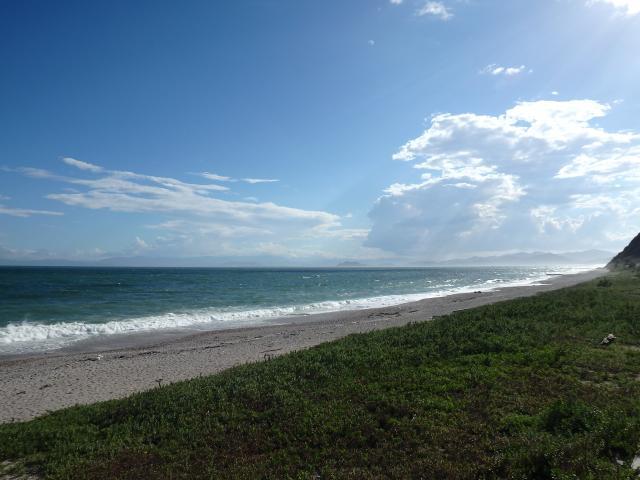 吹上浜の西の部分