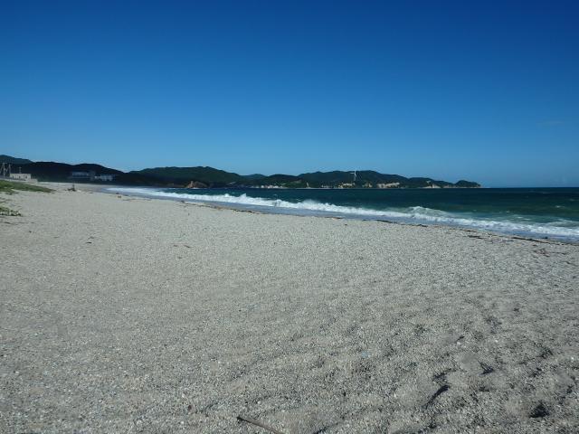 吹上浜の東の部分