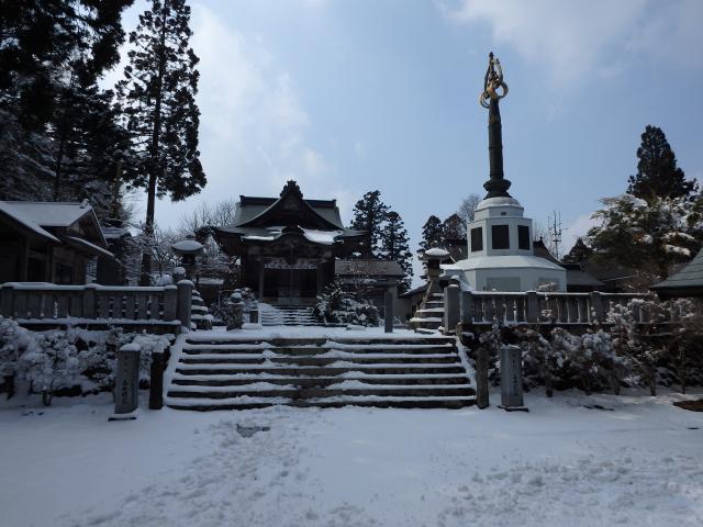 高越寺の宝塔伽藍