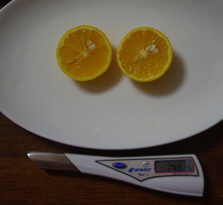 150211ー黄金柑糖度