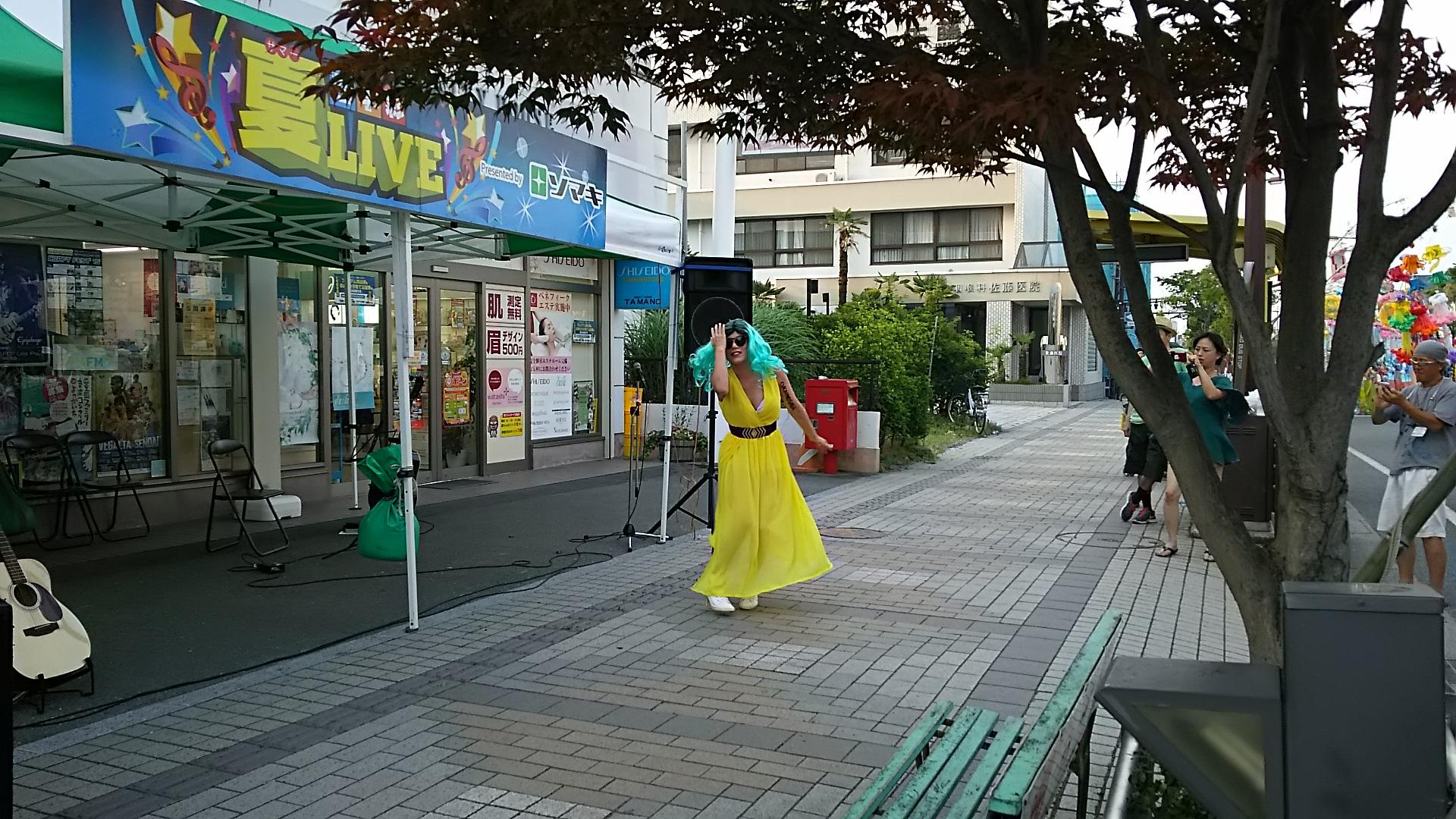おらいのGAGA 路上ライブ(?)2