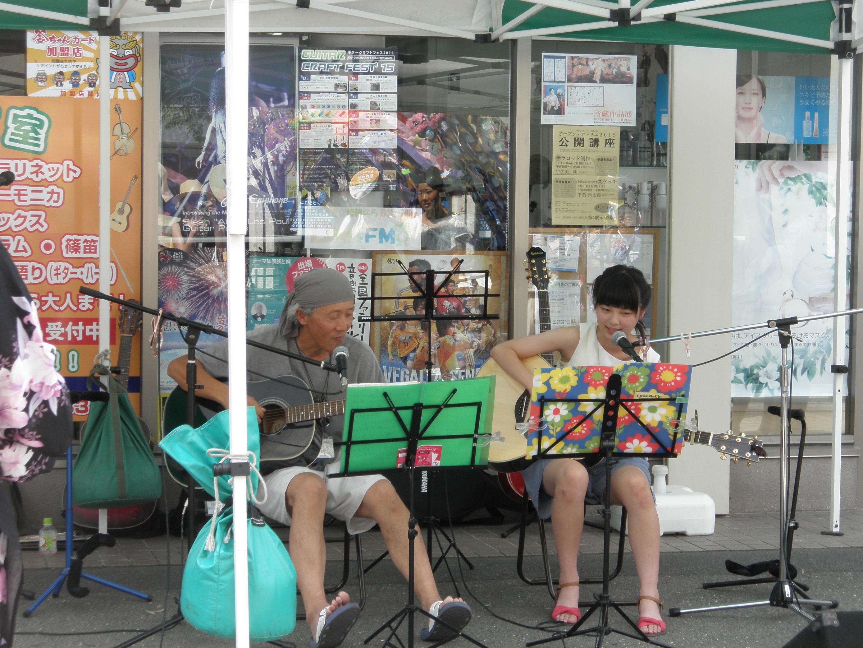 ギター弾き語り教室発表会