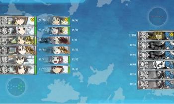 E-3-Z丙昼戦7戦目 とどめは戦艦榛名